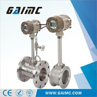 High accuracy vortex argon gas flow meter