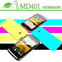 MD401 MTK6572A Dual core cell phone 512M 4G 4inch Smartphone WVGA Camera 0.3M 2.0M 3G GSM GPS Bluetooth mobile phone