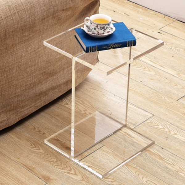 Clear Acrylic Coffee Table Plexiglass End Table