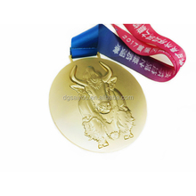 Factory Custom Make Buge Heavy Commemorative Gold Medal