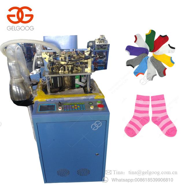 Hot Sale Automatic Computerized Boy Tube Socks Needles Setting Making Machinery Korea Sock Knitting Machine Price