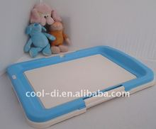 portable plastic indoor dog litter box DT04