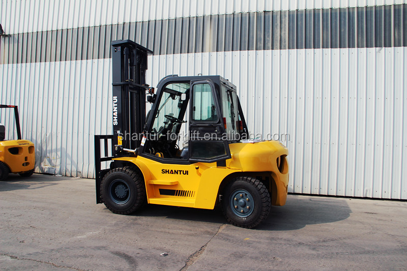 SHANTUI 5Ton Diesel fork lift with ISUZU 6BG1 engine