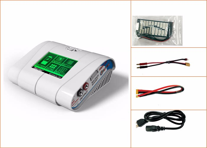 New Arrival HT106ACDC RC Drone Touch lipo battery charger 100w10a with the best factory price