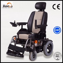 heavy duty electric wheelchair with CE approval for disabled man neighbourhood trip