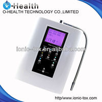 Hig PH level electrolysis water ionizer for OH-806-3H with LCD colorful screen