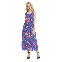 in high quality korean fashion summer long dress for women