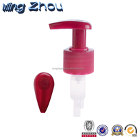 Top Quality The Best Price Plastic Lockable Lotion Pump With Aluminum Closure 24/410 28/410