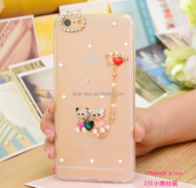 dimond flower phone case,tpu case for alcatel flash 2
