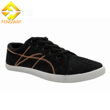 Professional Manufacturer Supply stylish canvas man shoes lace-up