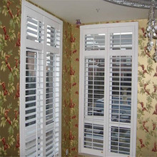 plantation hollow vinyl louvre shutters from china