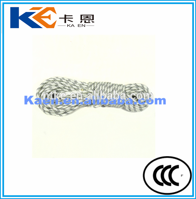 High frequency fire rescue escape rope of China National Standard