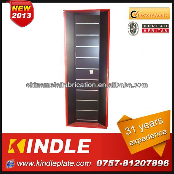Kindle commercial Customerize Steel small metal display shelf