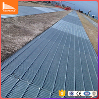 galvanized walking steel grating/concrete steel grating