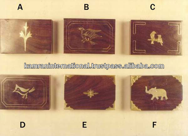 Wood gift box, Wood carving box, Fine brassinlay box, decorated gift boxes, hand carved wood box,