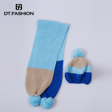 Wholesale Women'S Cable Knitted Hat Pattern Fashion Winter Hats And Scarf Sets For Ladies