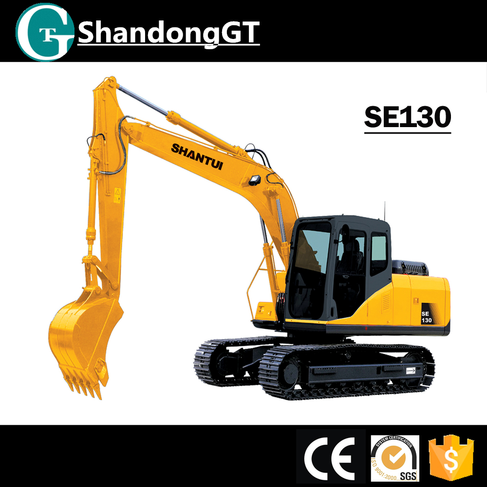 Construction trenching machine 15ton crawler excavator for sale in russia