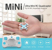 F16227/8 JJRC DHD D1 Supper Mini Pocket Drone 2.4G 4CH Smallest RC Copter Headless Mode 6-Axle Gyro RC Quadcopter Toy Gift