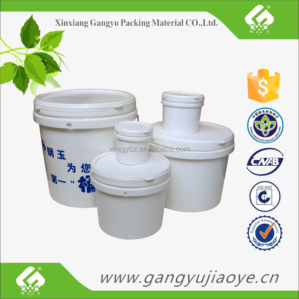 Plastic material and barrel type 5 gallon Slim