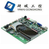 AMD N550 Dual Core Thin Mini Itx Motherboard DC 12V