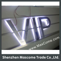 3d Led Backlit Car Logo Sign