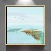 hand painted simple famous abstract art craft wall picture canvas painting GZ-201