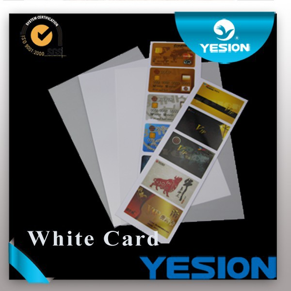 NEW ARRIVALS ! Double side Non-laminated 86*54mm Inkjet pvc playing card
