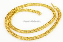 Gold Chain Necklace Decoratived Gilding Metal Chain Fashion Gold Chain
