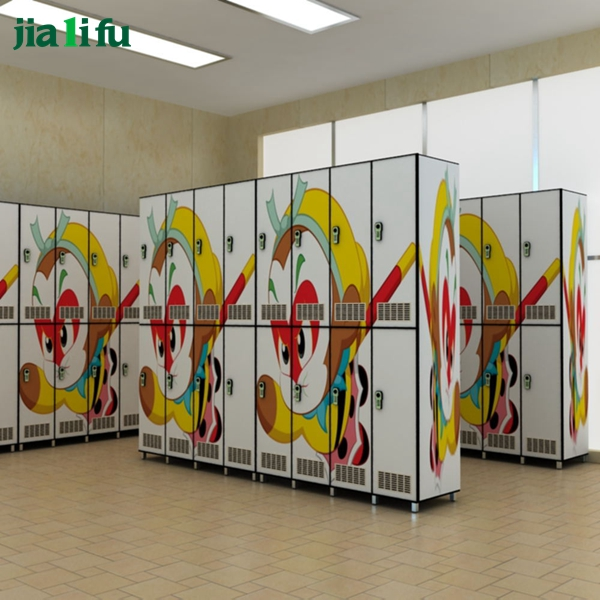 Double tiers hpl compact laminate sheet locker