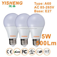 2 Years Warranty A19 LED Energy Saving Light Bulb For House,5W A60 LED Light Bulb