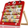Alphanumeric Cognitive Frame Animal Beads Children