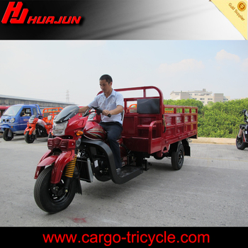 China New Cargo Tricycle Three Wheel Motorcycle HJ300ZH-A/Cargo Trike