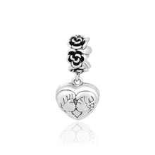 Love Letter Symbol Pendant Charms Couple Wedding Jewelry