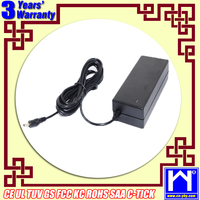 KCC AC Adapter 24V 3.5A Power Supply 84W With 5.5*2.1mm Connector