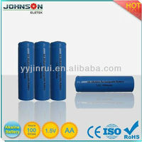 AA rechargeable alkaline battery 1.5v batteries alarm