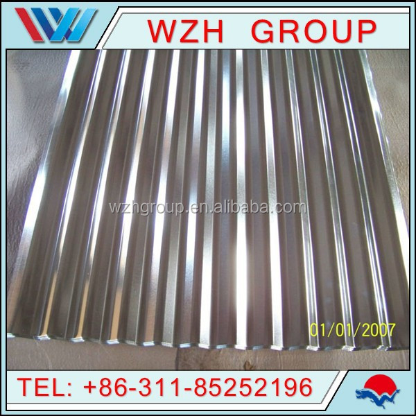 factory price roof material zinc sheet, 0.45mm roof steel sheet / zinc steel roofing