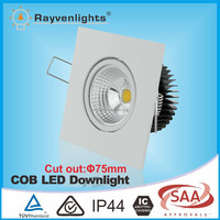 Best Dimmable LED Recessed Light 7W Square Recessed LED Lights