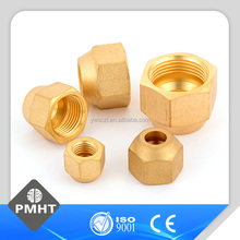 brass fitting air conditioner flare pipe brass rivet nut