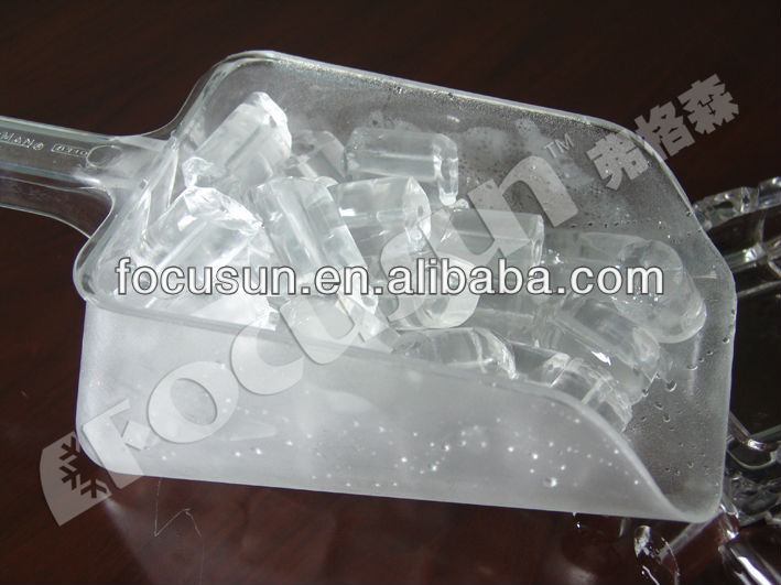 Red-hot edible tube ice machine