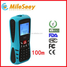 Shenzhen electronic Mileseey M2 100m area measurement instrument laser meter distance