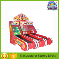 Most Popular Coin Operated Ticket Redemption Mini Bowling Electronic Game Machine