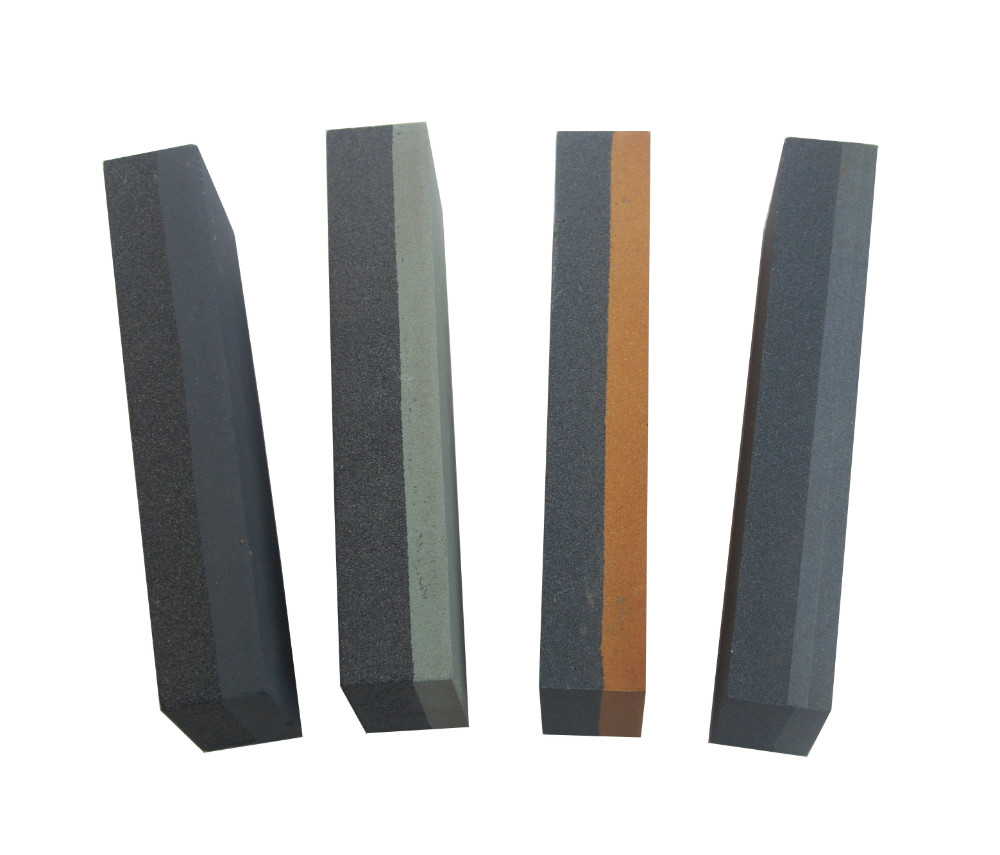 Combination knife oil stone/double side sharpening stone