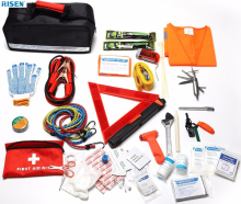 Portable Roadside Assistance auto first aid kit,car Emergency Tool