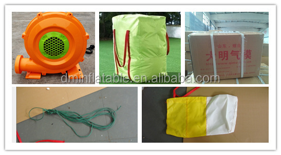 PVC hot winter cube inflatable tent