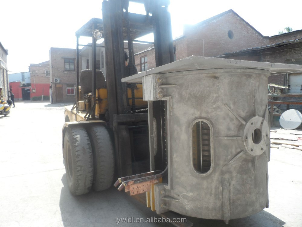 electric aluminium scrap melting furnace