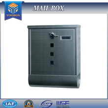 2017 YOOBOX Fashion New Semi Curve Lockable Mailboxes Stainless Steel Mail Boxes Modern Style album box