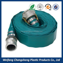 Agriculture Mining Irrigation Slurry Discharge Flexible 5 inch PVC Drain Pipe