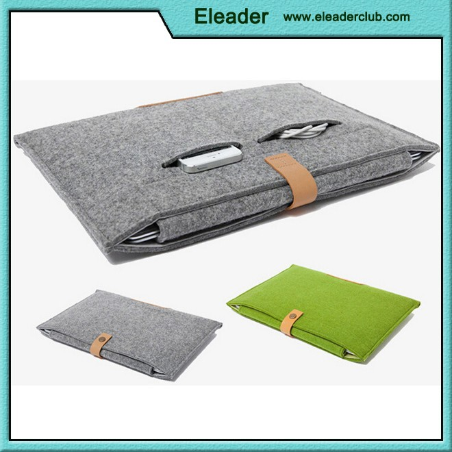 For MacBook Sleeve, Felt Carrying Case Bag for macbook 11'' 13'' 15''
