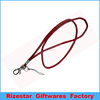 Customized Logo neck lanyard/polyester lanyards no minimum/ phone key chain for collection ID holders