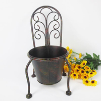 cast iron handmade decorative flower pot plant holder for home or garden,outdoor or indoor